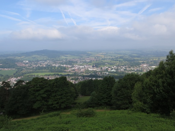 View over Monmouth