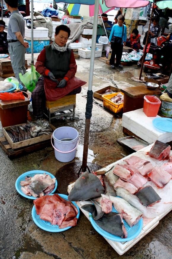 Jagalchi Fish Market, Busan, South Korea